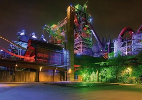 Landschaftspark Duisburg von Rolf Fischer