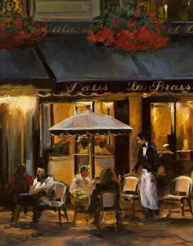 La Brasserie II von Marilyn Hageman
