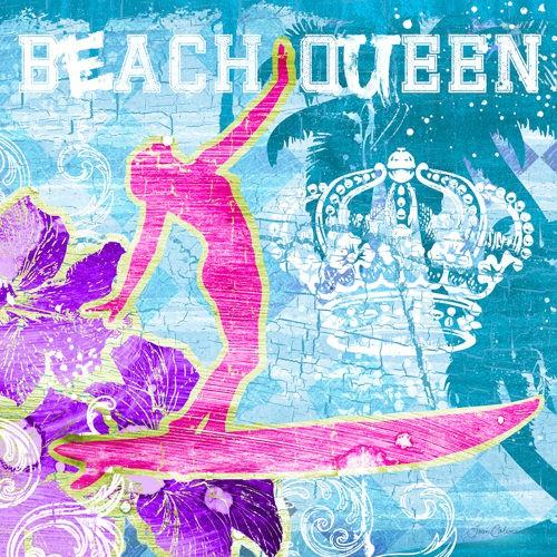 Beach Queen von Ink Wonderland