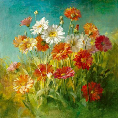 Painted Daisies von Danhui Nai