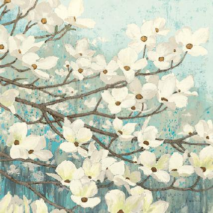 Dogwood Blossoms II von James Wiens