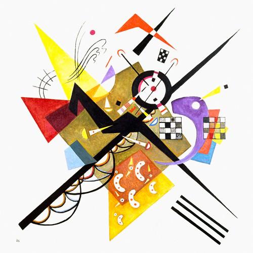 Im Weiss II, 1923 von Wassily Kandinsky