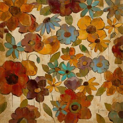 Floral Sketches III von Silvia Vassileva