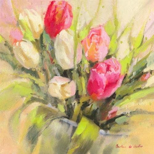 Tulipes en abondance von Emmanuelle Mertian de Muller