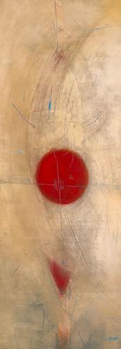 Triptyque rouge I von Carole Becam