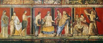 Fresko, Dionysische Mysterien von Pompeji