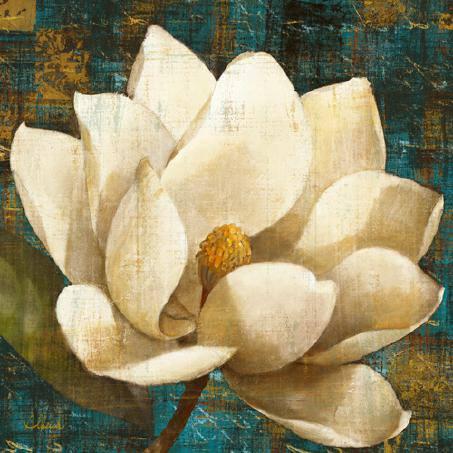 Magnolia Blossom Turquoise von Albena Hristova