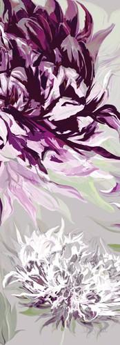 Purple Allure II von Sally Scaffardi