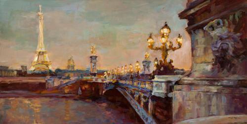 Parisian Evening Crop von Marilyn Hageman