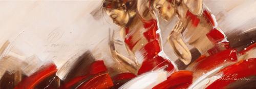 Spirit of Dance II von Kitty Meijering