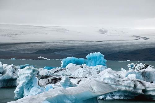 Jekulserlen-Island von Leo Seidel