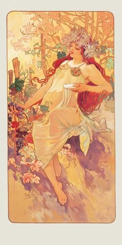 Herbst 1896 von Alfons Mucha