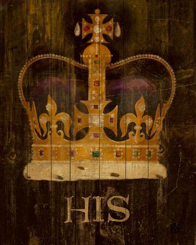 His Majestyes Crown with word von Avery Tillmon