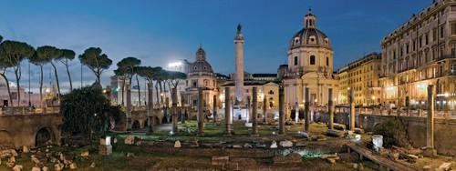 Trajansforum Kaiserforen Rom von Rolf Fischer