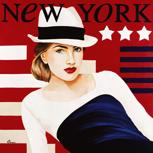 Femme New York von Anne Bernard