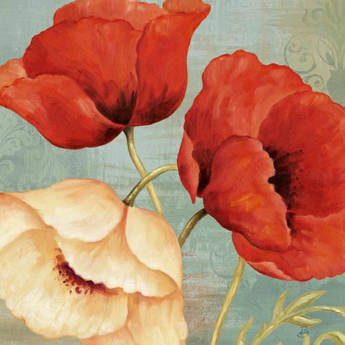 Rouge and Blanc I von Daphne Brissonnet