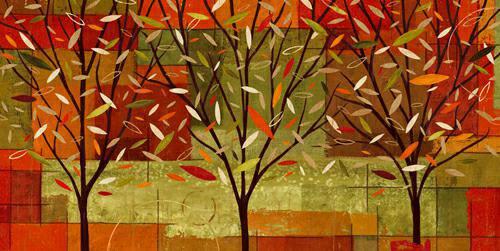 Watercolor Forest II von Veronique Charron