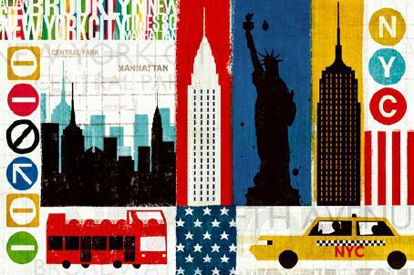 New York City Experience von Michael Mullan