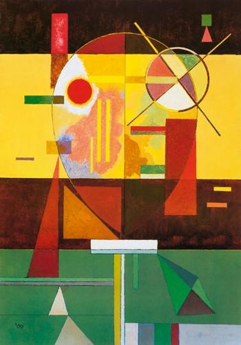 Zersetzte Spannung, 1930 von Wassily Kandinsky