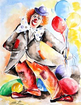 Clown II von Pasquale Colle