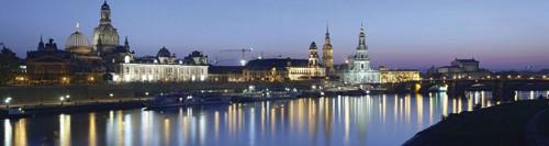 Elbpanorma Dresden von Rolf Fischer