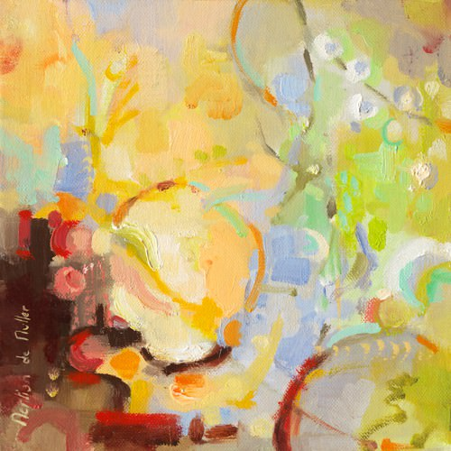 Les pommes II von Emmanuelle Mertian de Muller