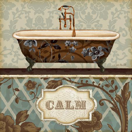 Bathroom Bliss II von Lisa Audit