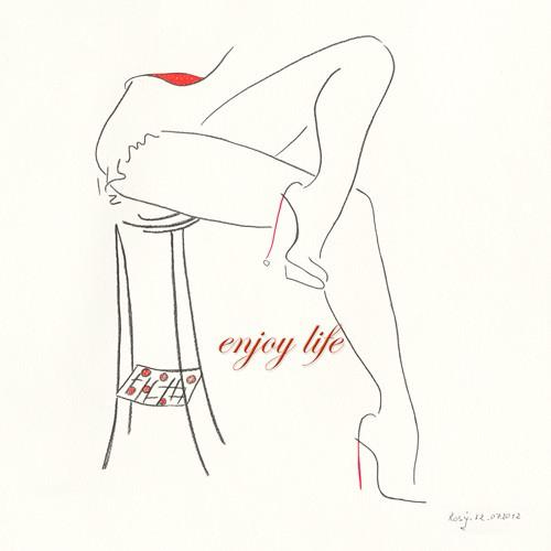 Serie Beine IV von Rosy Schneider