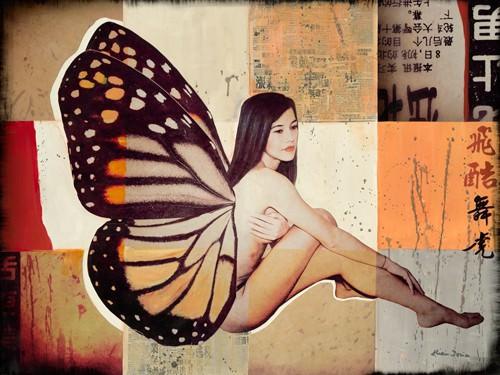 Butterfly II von Shirin Donia