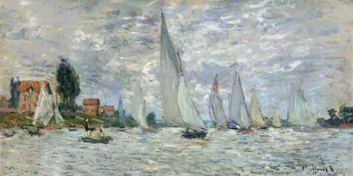 Le barche, regate ad Argenteuil von Claude Monet