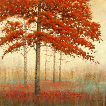 Autumn Trees II von James Wiens