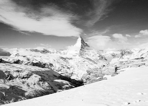 Matterhorn from Unterrothorn von Dave Butcher