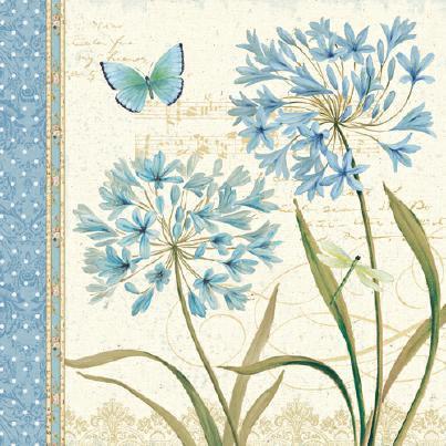Blue Melody III von Daphne Brissonnet