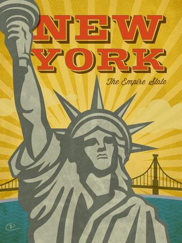 New York - The Empire State von Renee Pulve