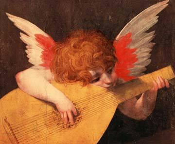Angelo Musicante von Fiorentino Rosso