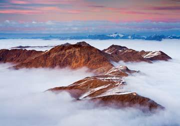 Berggipfel I von Rainer Mirau