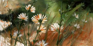 Blumen im Wind von Michael Hopf