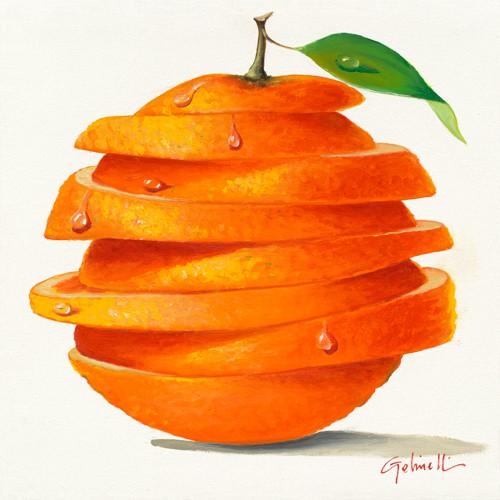 Orange Cut von Paolo Golinelli