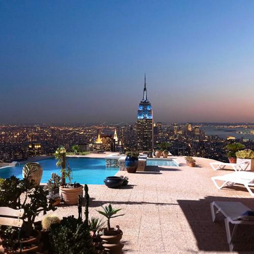 Beautiful View of New York von MN.FF