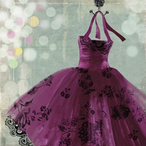 Fuschia Dress II von Aimee Wilson
