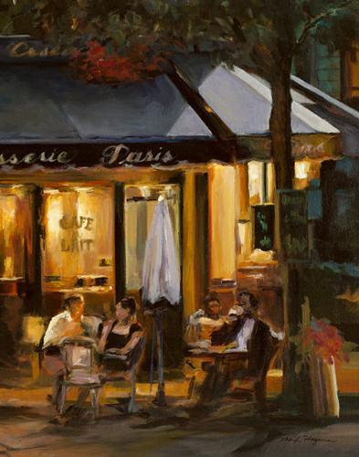 La Brasserie III von Marilyn Hageman