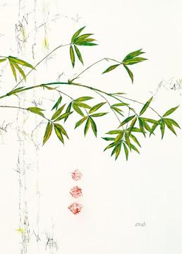 Bambuszweig von Michael Ferner
