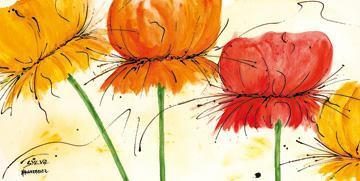 Blumen Fantasie I von Sylvia Haigermoser