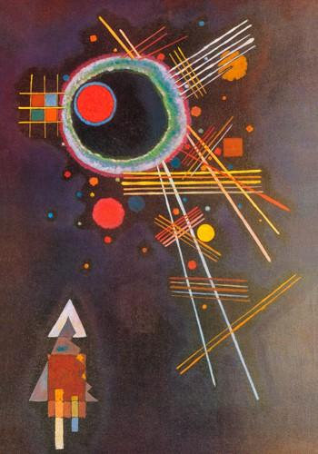 Strahlenlinien von Wassily Kandinsky