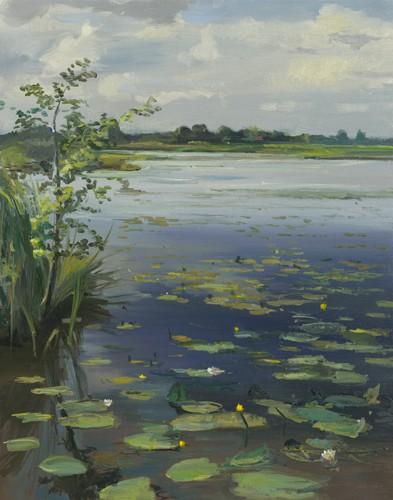 Water Lilies Earneweld II von Gosse Koopmans