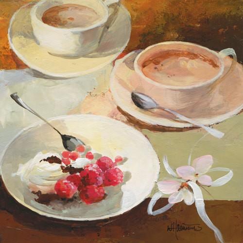Cafe Grande III von Willem Haenraets