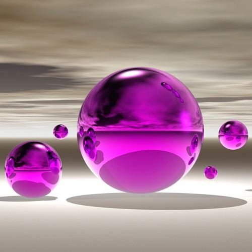 Purple Bowl von Peter Hillert