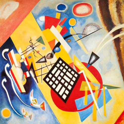 Trame Noir von Wassily Kandinsky