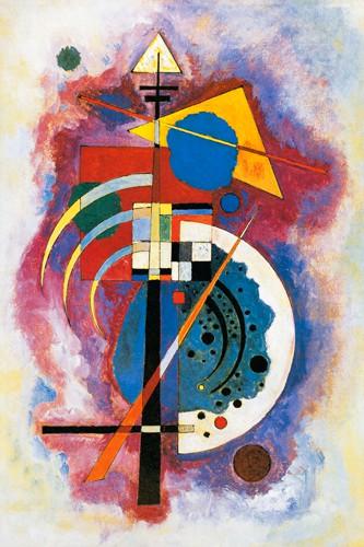 Hommage e Grohmann von Wassily Kandinsky