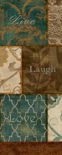 Live laugh Love von Alain Pelletier
